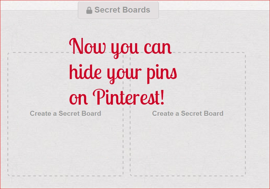 Can you hide pins on Pinterest? (1/6)