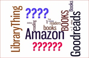 Wordle Amazon Goodreads LibraryThing