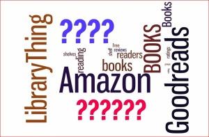 Wordle Amazon Goodreads LibraryThing